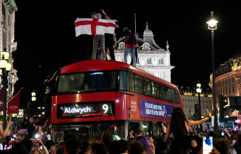20 Festnahmen in London nach Halbfinalsieg über Dänemark