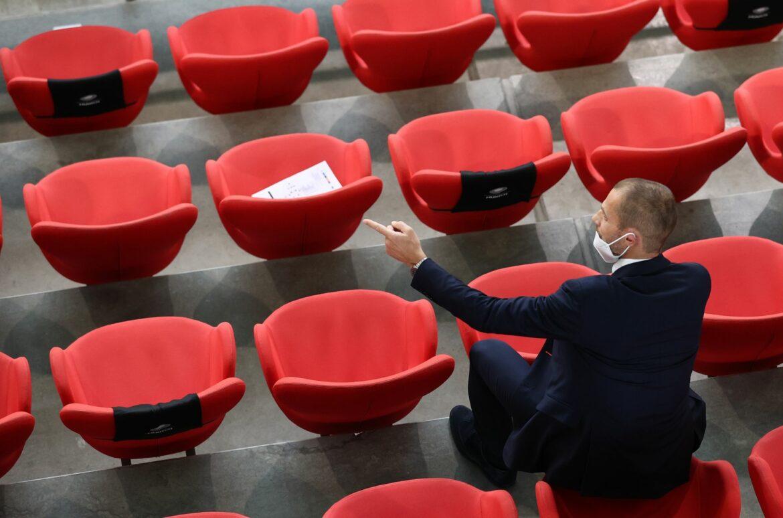 UEFA-Chef Ceferin kritisiert EM-Kritiker