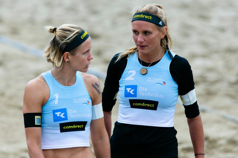 Deutsche Beach-Teams bei Olympia-Generalprobe raus