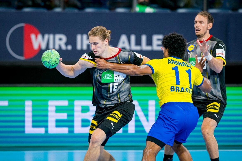 Deutsche Handballer mit überzeugendem Olympia-Test