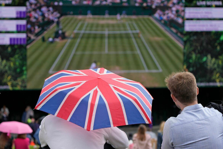 Untersuchung zu zwei Tennis-Matches in Wimbledon