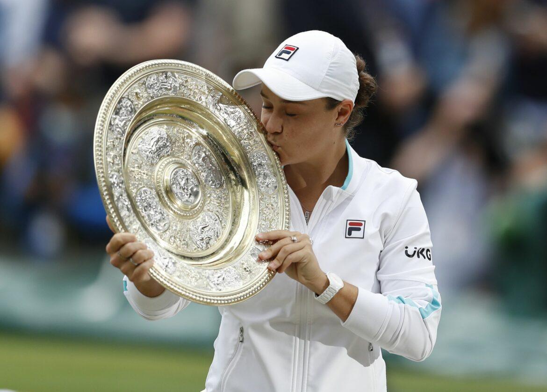 Wirklichkeit besser als Träume: Barty feiert Wimbledonsieg