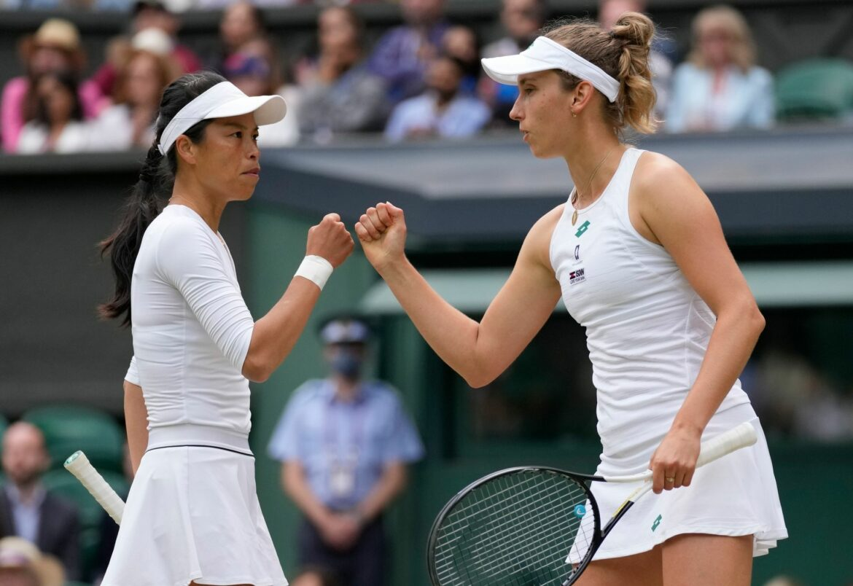 Wimbledon-Titel im Damen-Doppel an Hsieh und Mertens