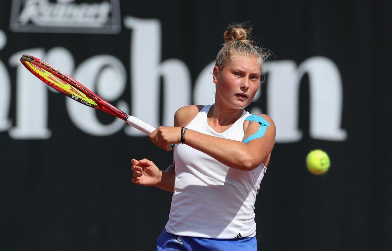 Deutsche Tennis-Juniorin Schunk erreicht Wimbledon-Finale