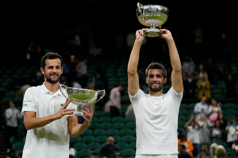 Kroaten Mektic und Pavic gewinnen in Wimbledon Herren-Doppel