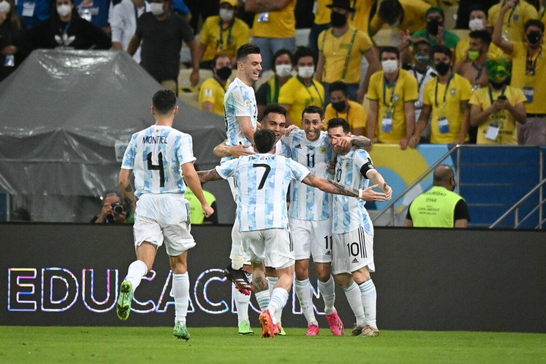 Argentinien schlägt Brasilien und gewinnt Copa América