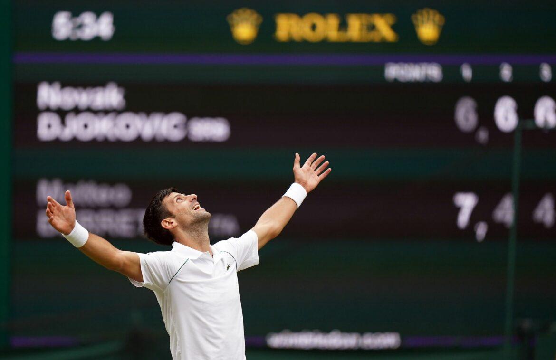 Djokovic: Die Größten im Tennis nur schwer zu vergleichen