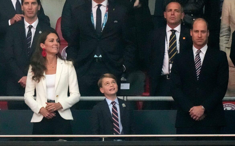 Der kleine Prinz verzückt und traurig: Hingucker George