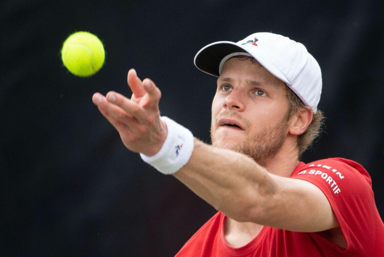 Yannick Hanfmann in Bastad im Viertelfinale