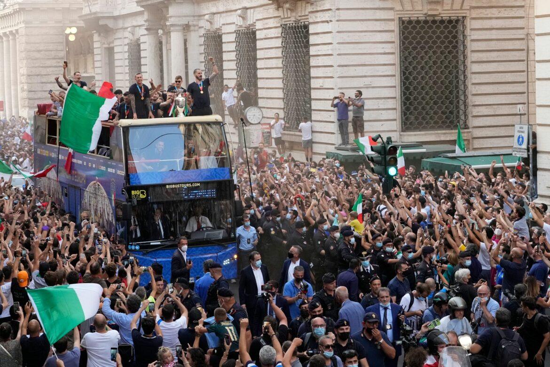 Italiens letzte «magische Nacht» – Titel-Party in Rom