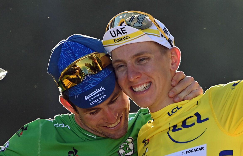 Pappschild, Pogacar, Politt: Momente der 108. Tour de France