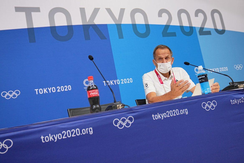 DOSB-Chef Hörmann weist Kritik an Tokio-Reise zurück