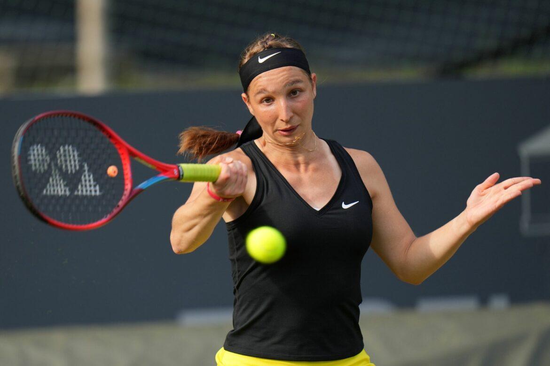 Tennisspielerin Korpatsch erreicht Viertelfinale in Gdynia