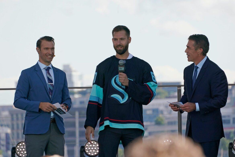 Neues NHL-Team aus Seattle feiert Aufnahme in die Liga
