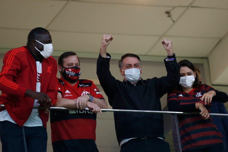 Fans zurück: Etwa 5500 Zuschauer bei Flamengo-Sieg