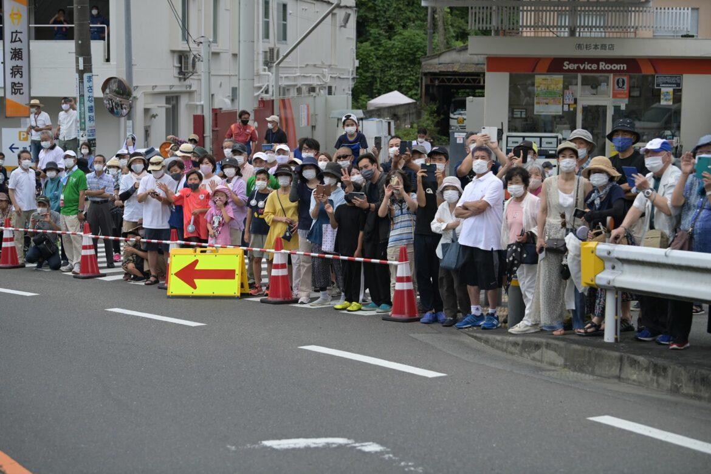 Trotz Corona-Notstand: Viele Zuschauer an der Radstrecke