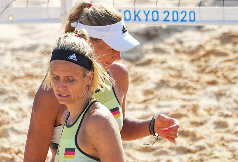 Beachvolleyballerinnen starten mit Niederlage ins Turnier