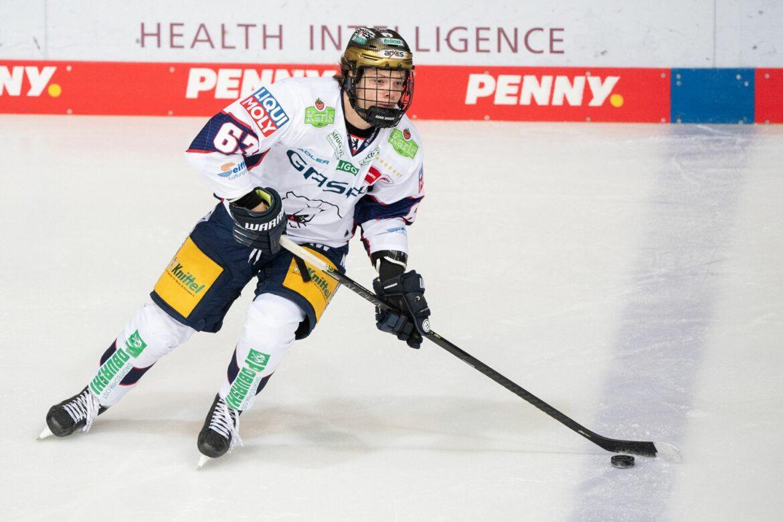Deutsche Eishockey-Talente Münzenberger und Hänelt gedraftet
