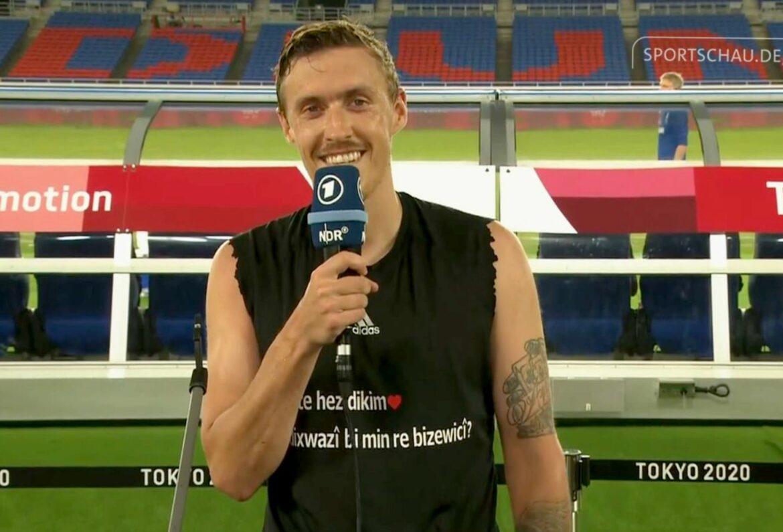 Olympia-Fußballer Max Kruse: Heiratsantrag im TV
