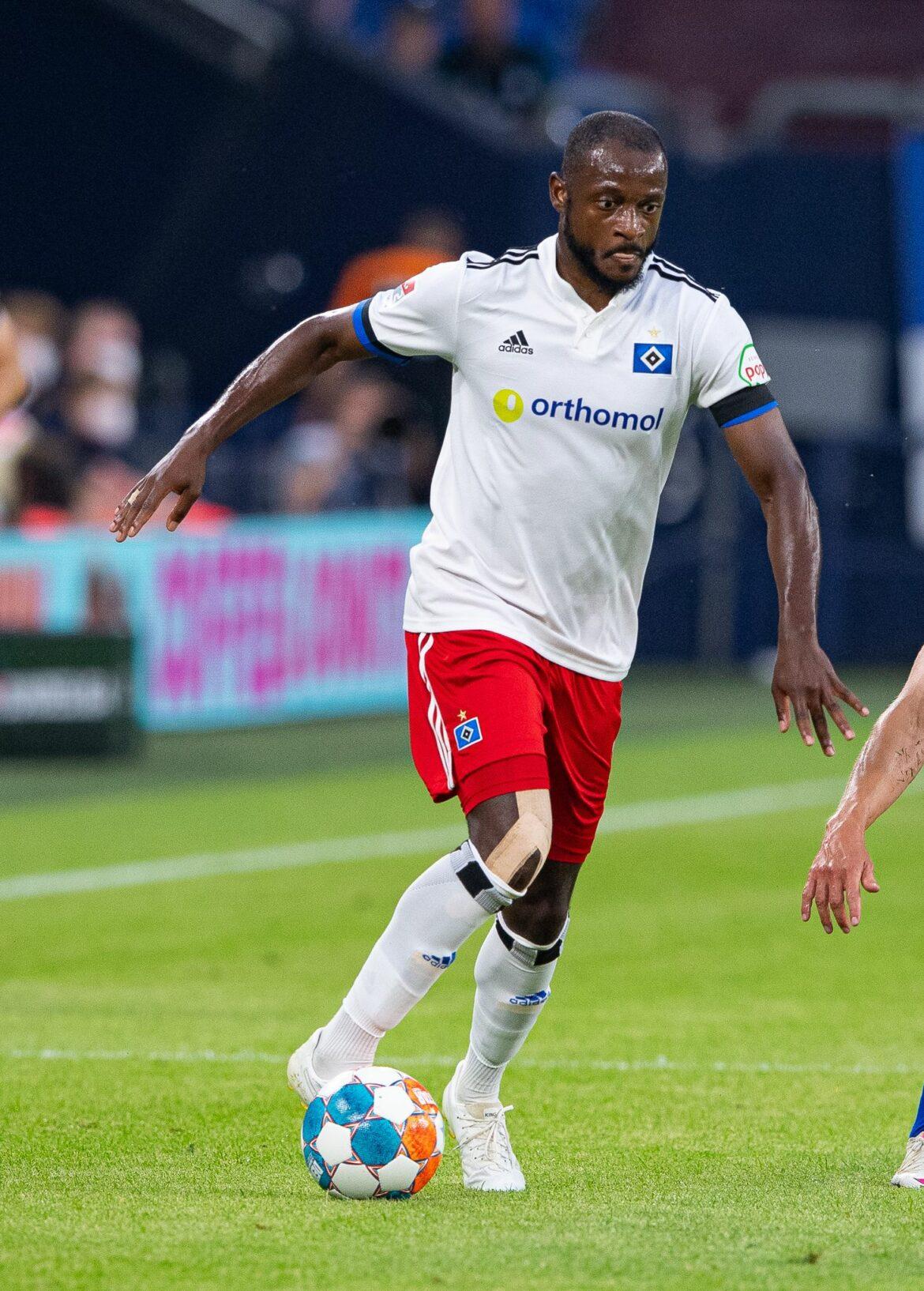 Anzeige von Fan:Schalke prüft Rufe gegen HSV-Profi Kinsombi
