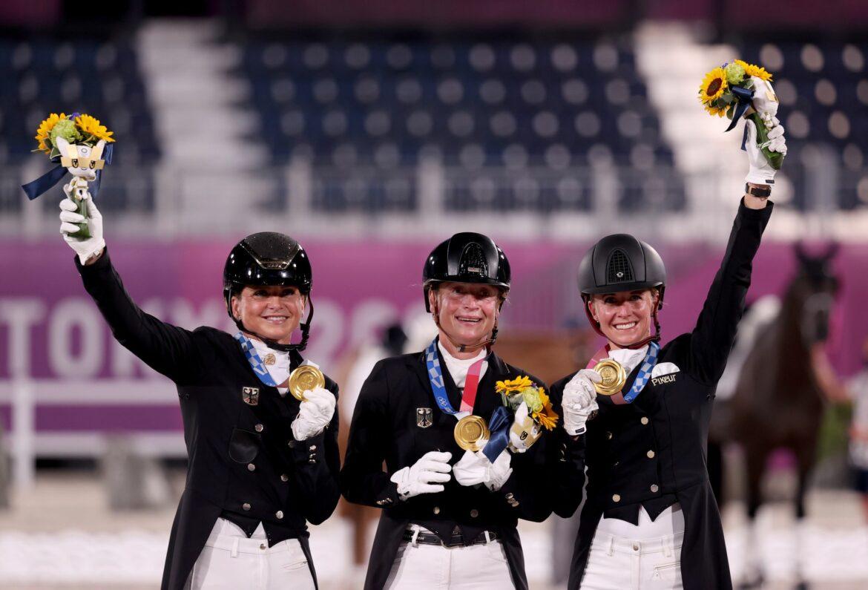 Deutsches Dressur-Team feiert erneut Gold
