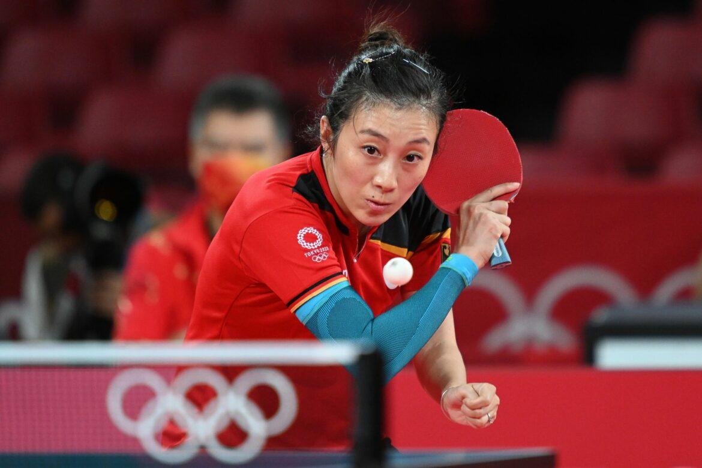 Tischtennisspielerin Han Ying raus im Olympia-Viertelfinale