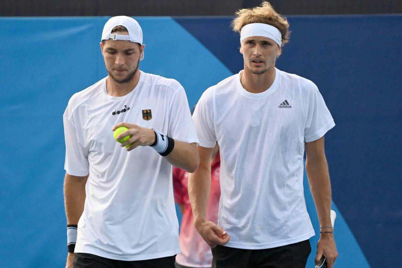 Tennis-Doppel Zverev/Struff verpasst Olympia-Halbfinale