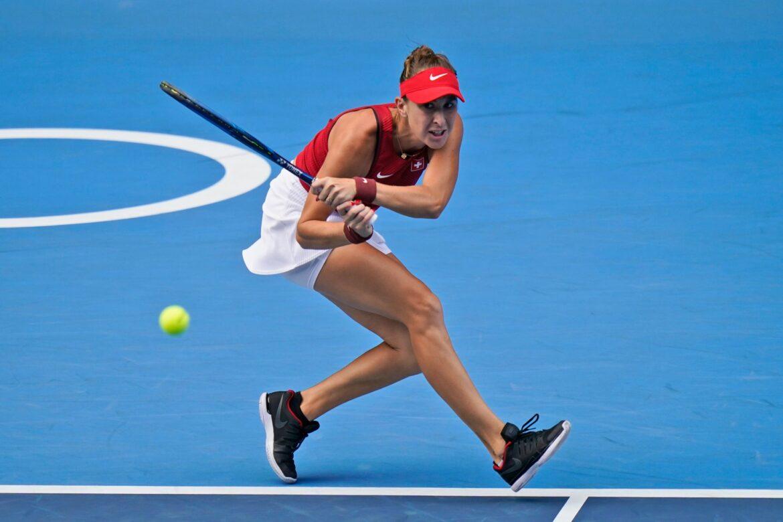 Schweizerin Bencic spielt gegen Vondrousova um Gold