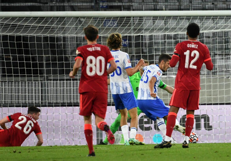 Doppelpack vom Neuzugang: Hertha 4:3 gegen Liverpool