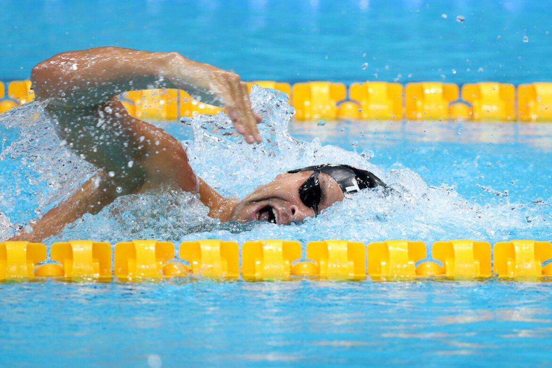 Ungeimpft und ohne Maske: Lagenschwimmer Andrew polarisiert
