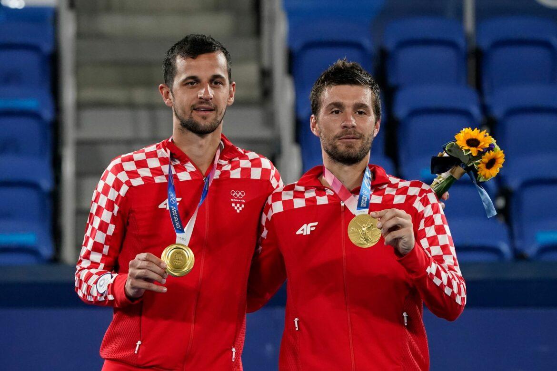 Kroaten Mektic/Pavic holen Gold im Doppel