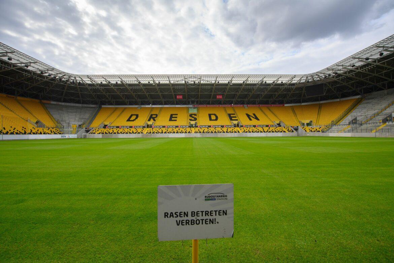 Dynamo Dresden plant im Pokal mit etwa 16.000 Fans
