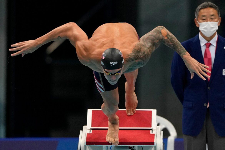 US-Schwimmstar Dressel gewinnt Gold über 50 Meter Freistil