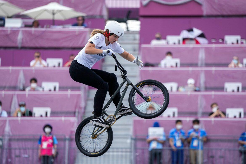 Lessmann Sechste im BMX-Freestyle