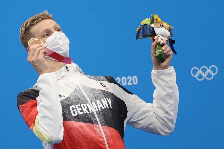 Nach langer Führung: Goldkandidat Wellbrock gewinnt Bronze