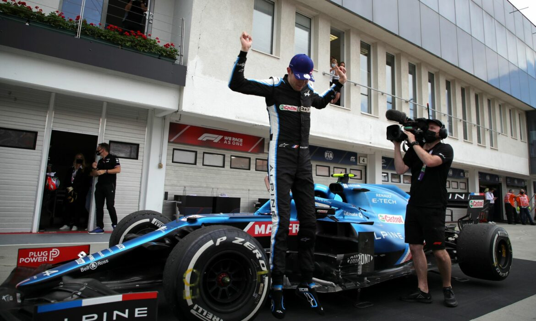 Irres Ungarn-Rennen: Sensationssieger Ocon – Vettel Zweiter