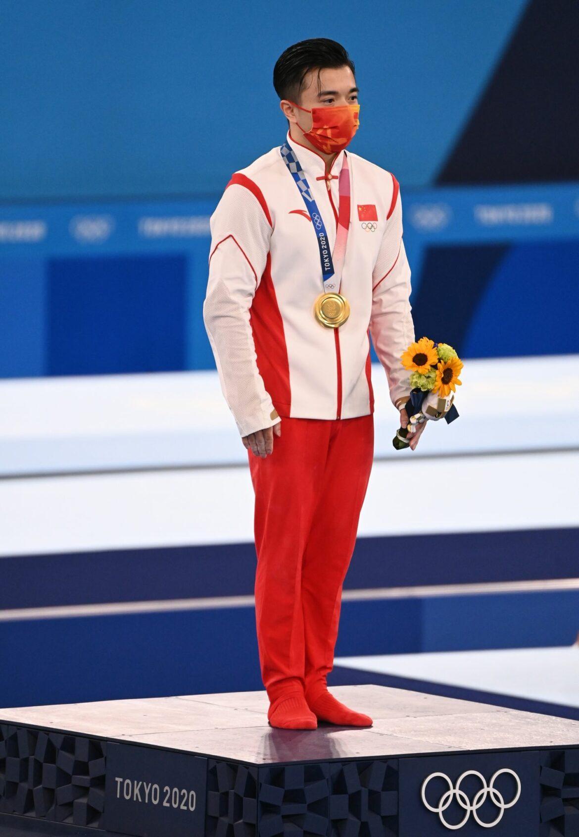 Doppelsieg für Chinas Turner an den Ringen