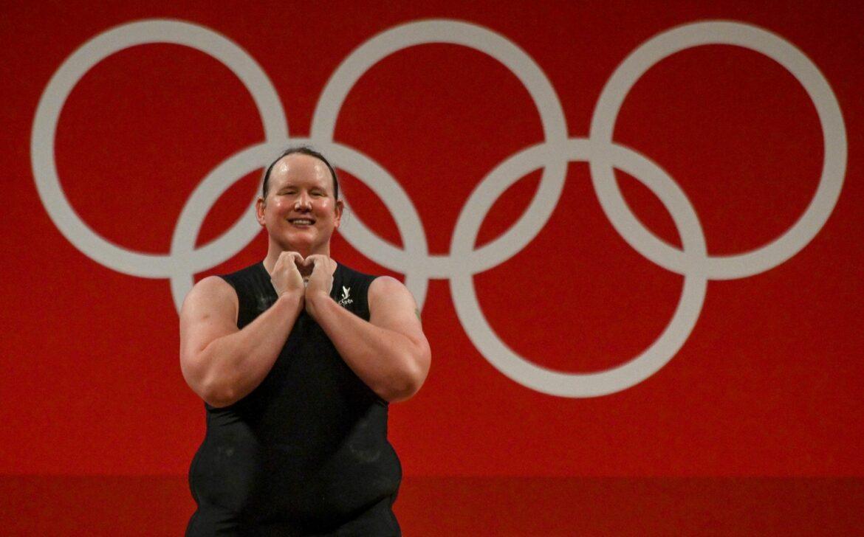 Transgender Hubbard: Ohne Medaille, aber mit Botschaft