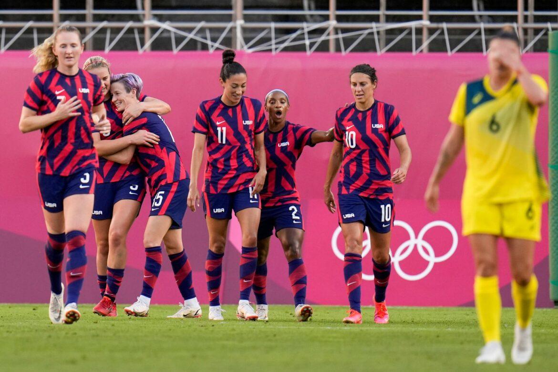 Dank Rapinoe und Lloyd: US-Fußballerinnen gewinnen Bronze