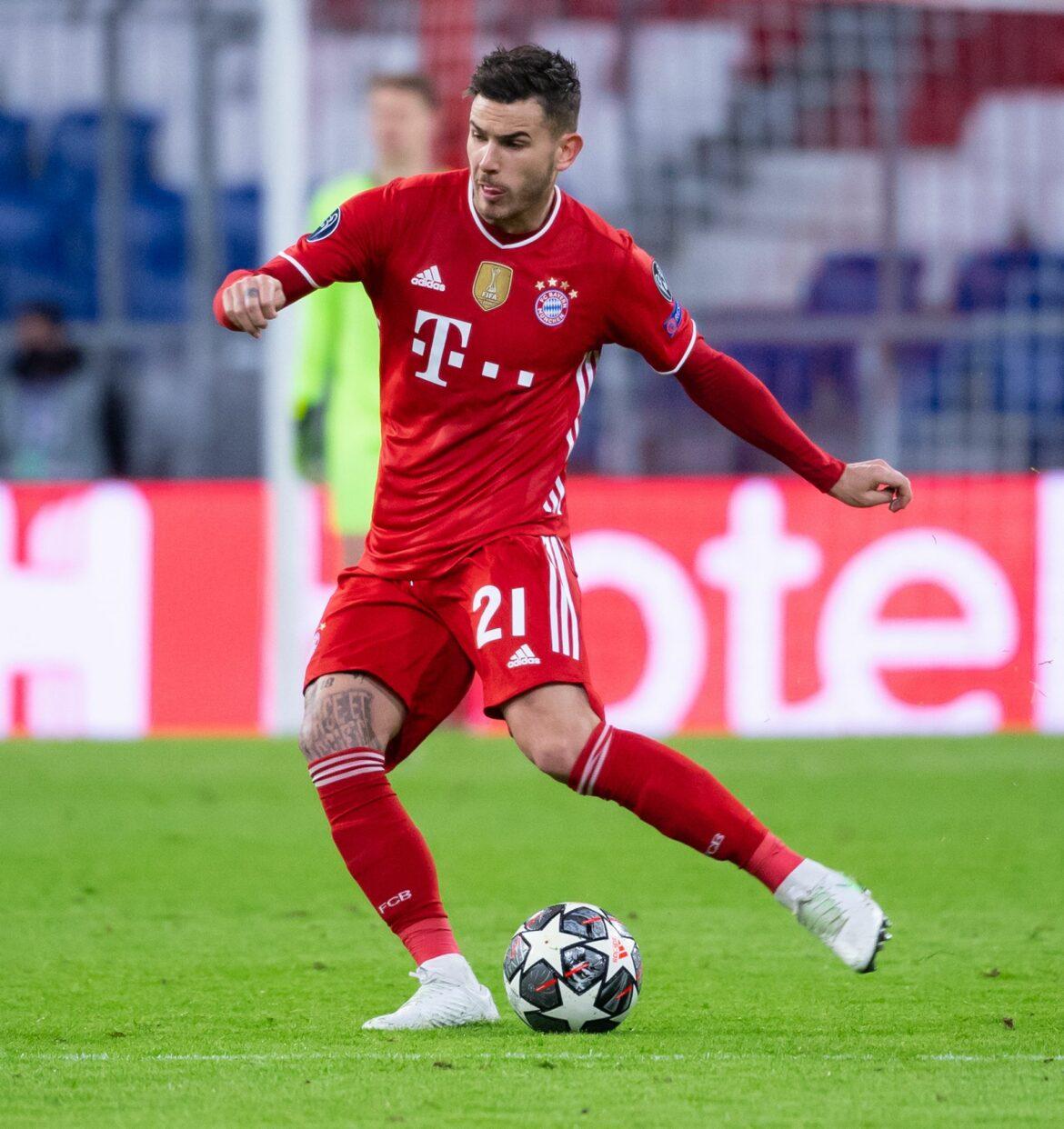 Bayern-Stars Hernández und Coman im Lauftraining