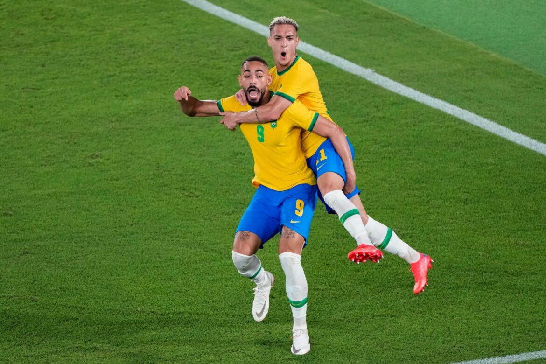 Brasilien Fußball-Olympiasieger: Sieg nach Verlängerung