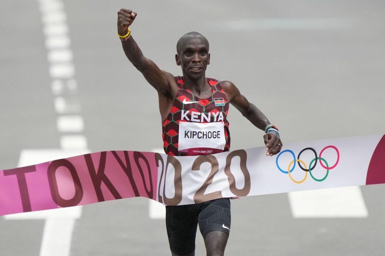 Kenianer Kipchoge holt zweites Gold im Marathon