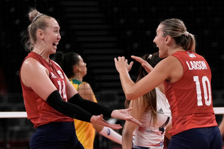 US-Volleyballerinnen holen erstmals Gold