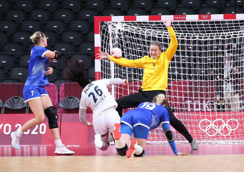 Nachden Männer:Auch Frankreichs Handballerinnen holen Gold