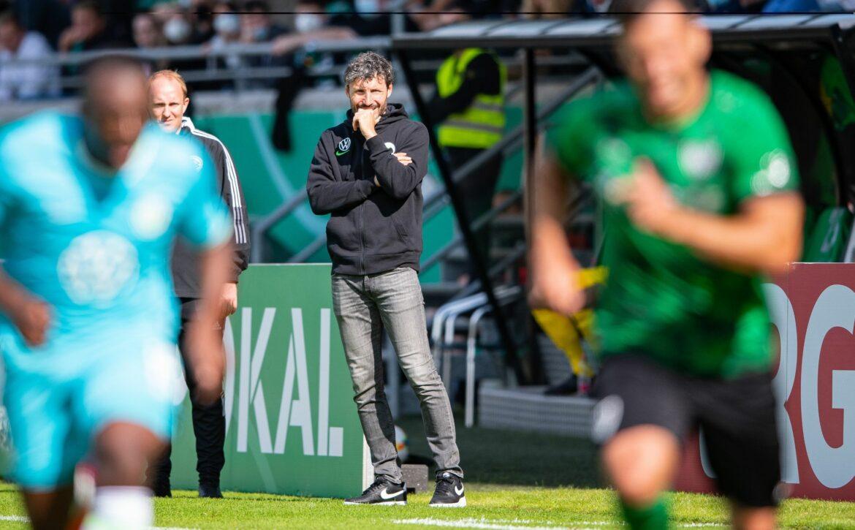 Wolfsburg und van Bommel zittern:Wechselfehler bei Sieg
