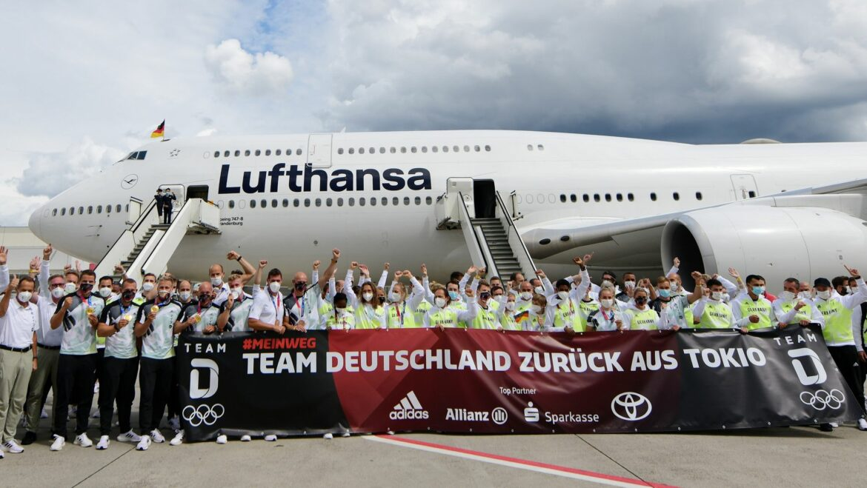 Team Deutschland zurück – Olympia-Aufarbeitung beginnt