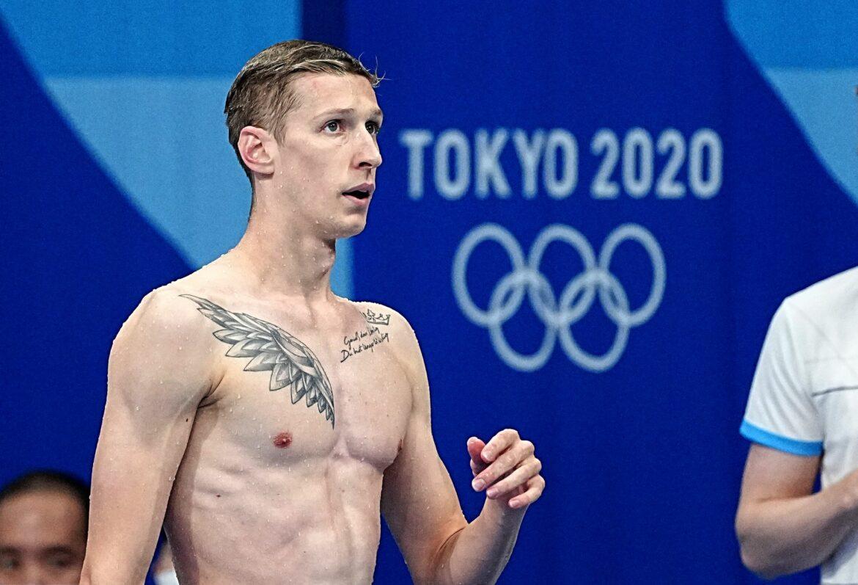 Schwimm-Olympiasieger Wellbrock: Tattoo für Goldtriumph