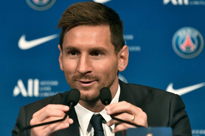 Messi zur Premiere im PSG-Trikot: Hoffe so früh wie möglich