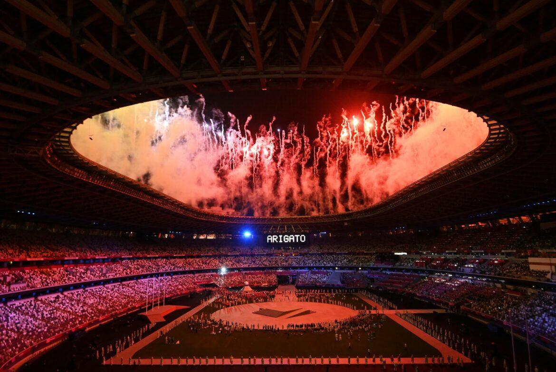 Nordkorea strahlt verspätet Olympia-Bilder aus