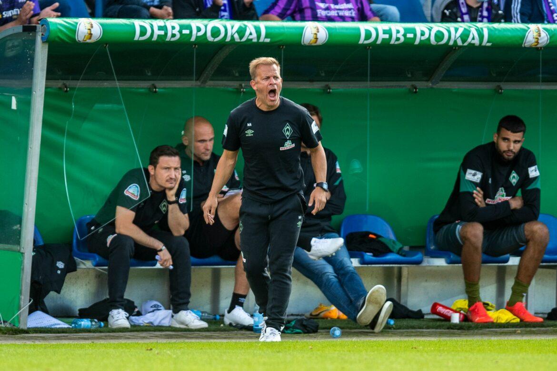 Werder-Trainer Anfang unzufrieden: «Wir brauchen Spieler»